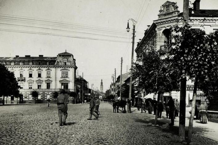 Radom. Place de la_Constitution de 3_Mai. (1915)