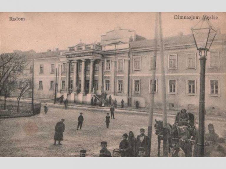 Ecole de Garçons à Radom avant 1914, plus tard Ecole de Commerce, puis Ecole dr Titus Chalubinski.