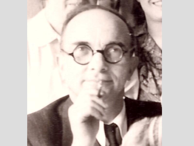 Bodalski Maurycy - portrait de 1947, Radom.