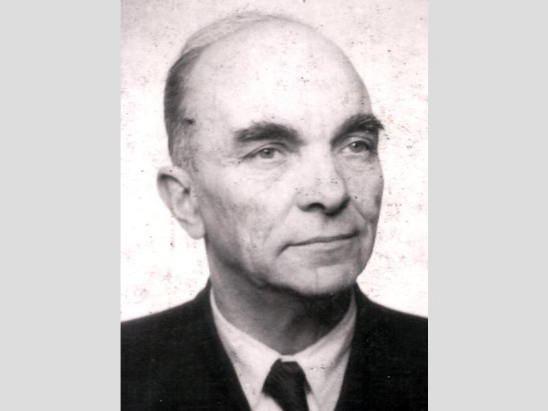 Bodalski Maurycy - portrait, environ 1960.