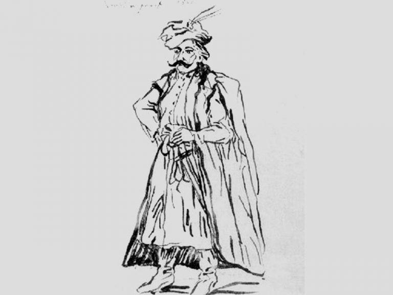 Jean-Pierre Norblin. Noble polonais, 1801.