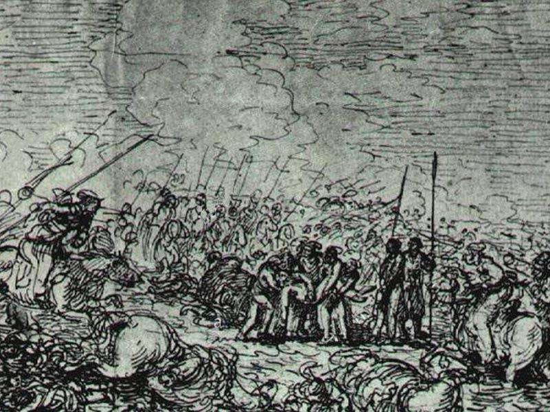 Jean-Pierre Norblin - Bataille de Maciejowice.