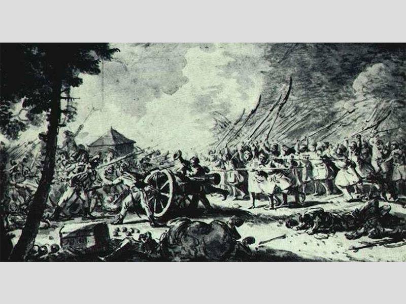 Jean-Pierre Norblin - Les insurgeants de 1794 (titre inconnu).