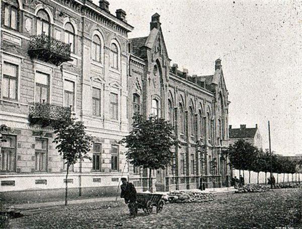 Radom, rue Szeroka, 1899 (aujourd'hui Pilsudskiego).