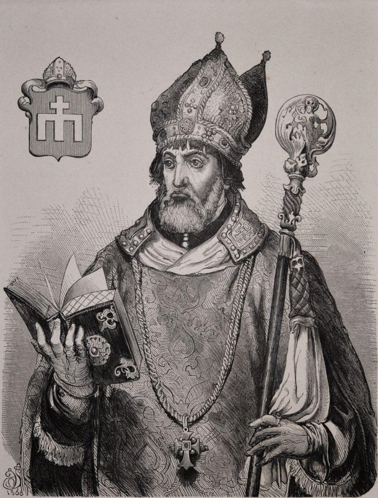 Andrzej Zebrzydowski, évêque de Cracovie.