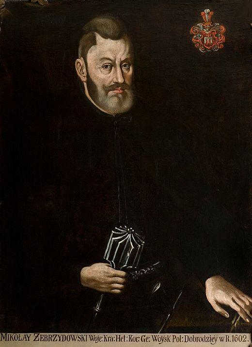 """Jan Teczynski. """"Mikołaj Zebrzydowski""""."""