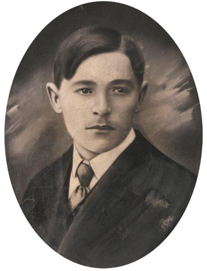 Waclaw Pisula, arrière-petit fils de Magdalena Broniewicz, 1898-1969. Fils de Walerian et de Władysława, petit fils de Franciszek.
