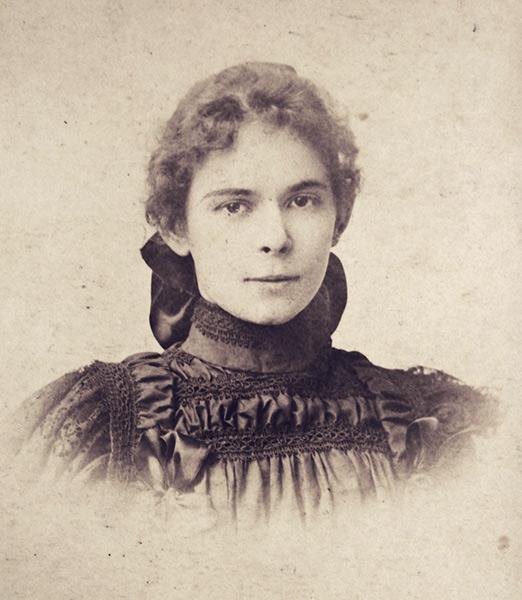 Janina Kolasińska, épouse de Mieczysław Potkański
