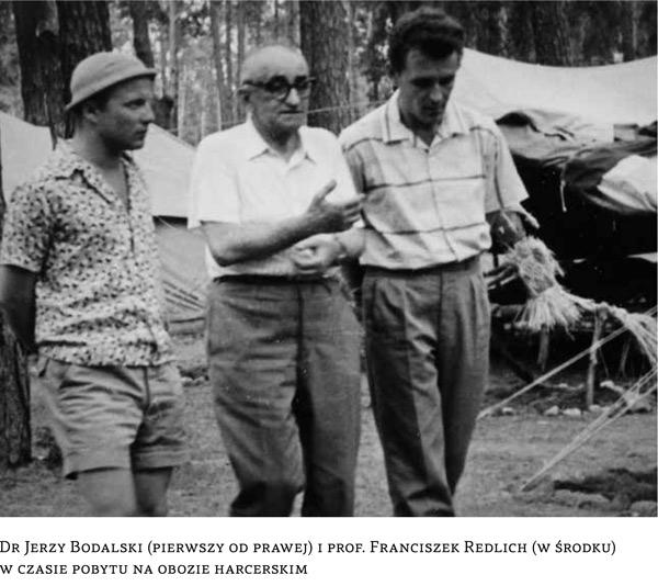 Jerzy Bodalski (à dr.), colonie de vacances pour les enfants malades de diabète. 1961-62.