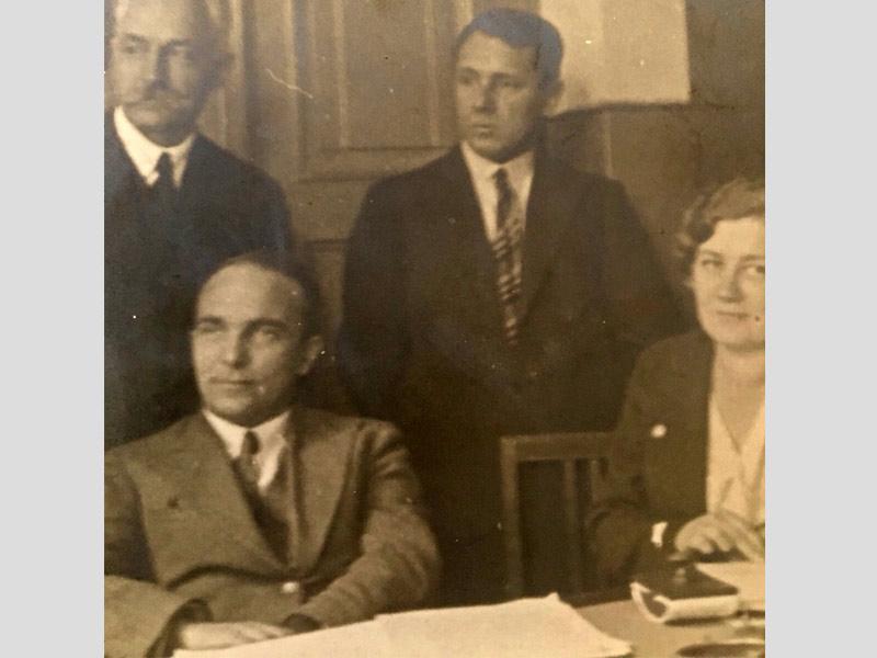 BODALSKI Maurycy (à g. en bas), Radom, Ecole.