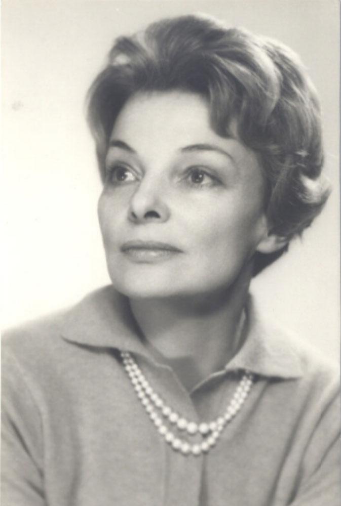 Anna Hochfeld, luty 1968 r. Fot. Dorys, Benedykt Jerzy. Z kol. BN w Warszawie