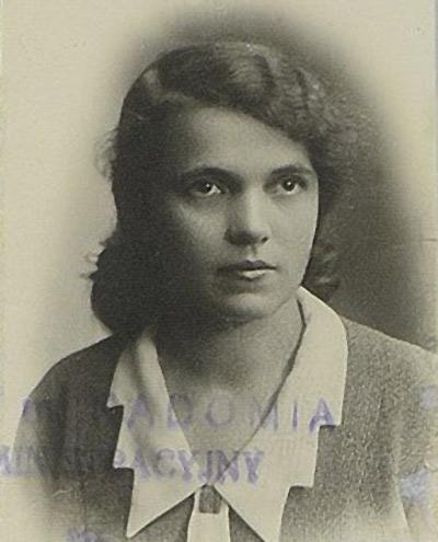Czyszkowska Sylwia. 1931, Radom.